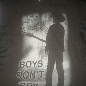 The Cure Band shirt